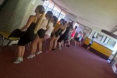 Letní soustředění balet