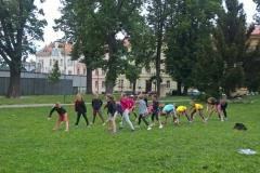 Letní soustředění park hry
